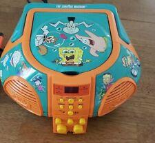 Nickelodeon The Singing Machine Music CD Player SpongeBob Rugrats 2002
