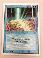 MTG Magic The Gathering Revised Braingeyser NM+