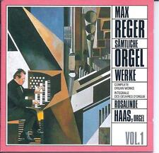 MAX REGER: Complete Organ Works (Box Set) (CD, 12 Discs, MDG) LIKE NEW