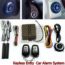 Auto Car SUV Alarm System Security Keyless Entry Push Button Remote Engine Start
