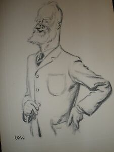 Vintage Print Low New Statesman 1926 George Bernard Shaw Writer Playwright