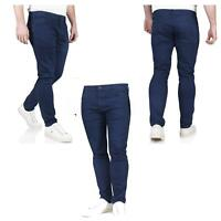 New Next Mens Skinny Jeans Slim Fit Blue Denim Stretch Casual Trousers Pants