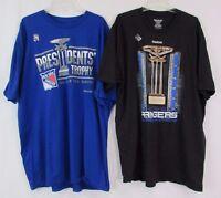 New York Rangers Men 2014-15 NHL President's Trophy Champs T Shirt SPECIAL