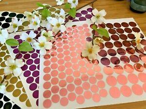 Polka Dot Wall Stickers Decal circle craft Vinyl Art Decor Spots Circle 2 Sizes