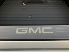 Quicksilver Metallic Bed Rail Cap Vinyl Decal Inserts For 2014-2018 GMC Sierra