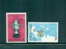 Guyana 1976 West Indian Victory World Cup Cricket  MNH SG 659-660