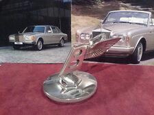 Bentley Flying B Car Mascot Hood Ornament Rare Backwards Leaning On Cap