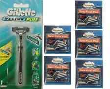 Gillette Vector Plus Razor + 50 Personna Twin Pivot Plus Cartridges