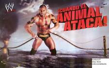 POSTER BATISTA ATACK OF THE ANIMAL  WWE   WWF 22X32