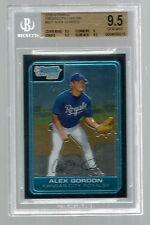 2006 Bowman Chrome Prospects #BC1 Alex Gordon Kansas City Royals BGS 9.5