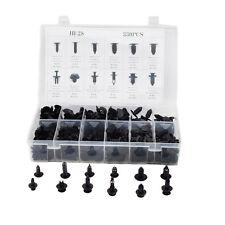 330pcs 12Sizes Car Body Retainer Push Pin Rivet Clip Mouldings Trim Panel Novel