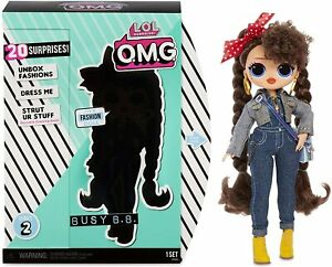 LOL Surprise OMG Busy B.B. Series 2 Fashion Doll With 20 Surprises NEW!
