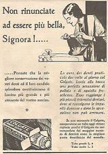 W4213 COLGATE - Non rinunciate ad essere più bella Signora - Pubblicità del 1930