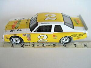 1:24 SCALE ACTION DIECAST CAR 1980 #2 DALE EARNHARDT SR MELLO YELLO PONTIAC NOVA