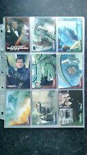 James Bond Tomorrow Never Dies Trading Card Base Set (90 Cards) + Sleeves.