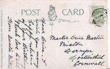 Genealogy Postcard - Family History - Martin - Lostwithiel - Cornwall    V2274