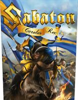SABATON - CAROLUS REX  BACKPATCH NEW+