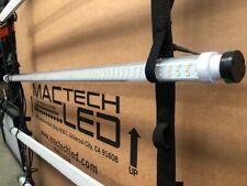 set of 4 Mac Tech 4' Warm White 1st Gen LED Tube Film Lighting stage keno