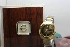 Vintage Original Elgin Hand Wind Two tone Dress Wrist Watch with Box