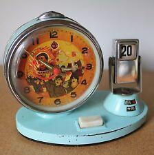 Ancien Réveil Mécanique MAO ZEDONG chine révolution avec calendrier