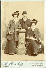 Photographie Artistique A. Humbert ST. DIZIER- ca. 1905 Kabinettfoto