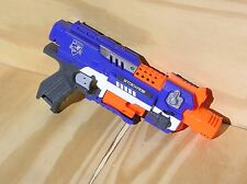 NERF N strike Stockade 10 Round Rapid Fire Revolver Gun, Good working Condition.