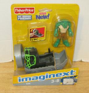 Fisher Price Imaginext DC Super Friends K. Croc w/ Swampbot BRAND NEW NIP