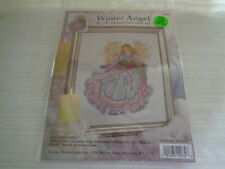 """COUNTED CROSS STITCH KIT """"WINTER ANGEL"""" DESIGN WORKS - NEW / SEALED"""