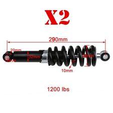 2X 290mm Rear Shock 50 70cc 90cc 110cc 125cc Dirt Bike Pit Bike Motorcycle 11.4'