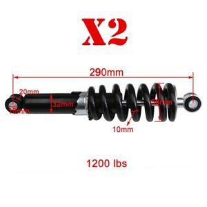 2X Rear Shock Suspension Absorber for 50cc 90 110cc Pit Bike Dirt BAJA 290mm su