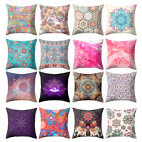 ALS_ Ethnic Printed Throw Pillow Case Sofa Bed Chair Cushion Cover Home Decor My