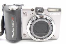 Canon PowerShot A650 IS 12.1MP 2.5'' SCREEN 6X Digital Camera
