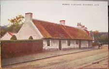Scottish Postcard Poet Robert Burns Cottage Alloway Scotland Valesque Jv89215