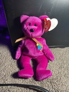 """Beanie Baby """"Millenium"""" Misspelled 1999 With Tag Errors Brand New"""