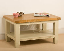 Less than 60cm High Oak Farmhouse Coffee Tables with Drawers