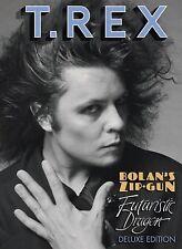 T.REX  Bolan's Zip Gun and Futuristic Dragon 3 DISC  BOOK STYLE LTD EDITION