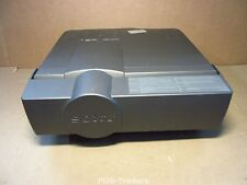 Sony VPL-X600 3LCD Projector Beamer 600 Lumens EXCL REMOTE POWERS ON, NO HOURS