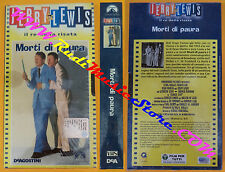 film VHS MORTI DI PAURA Jerry Lewis 2002 sigillata DEAGOSTINI (F107) no dvd