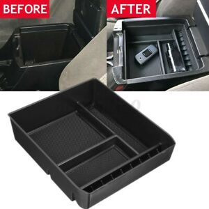 Center Console Armrest Box Storage Tray For Toyota Land Cruiser Prado 2004-2009