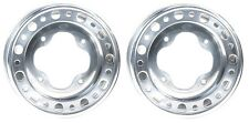 (2) Set - ITP Baja 9x9 Rear Rims Wheels Yamaha Raptor 660 01-05 Raptor 700 06-16