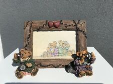 Boyds Bearstone Frame, Alexandra And Belle – Telephone Tied #27355