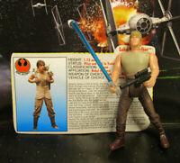 1995  Kenner Star Wars POTF 2 - Luke Skywalker Dagobah Loose & Complete Figure