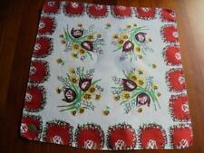 Vintage Nwt Tulip & Arbor Hanky Handkerchief Hankie