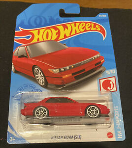 Hot Wheels Nissan Silvia (S13) Red 2021 New Release M Box