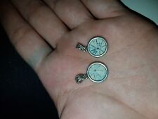 2 coins of The poor Widow's Mite set in 925 Silver