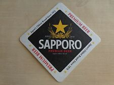Beer Collectible Coaster ~^~ SAPPORO Premium ~^~ Japan's Oldest Brand Since 1876