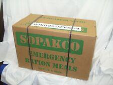 SOPAKCO MRE Emergency Survival Military Ration 1 Case 14 Meals Low Sodium