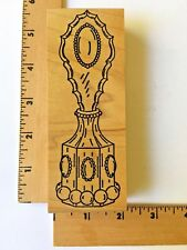 Me and Carrie Lou Rubber Stamps - Large PERFUME BOTTLE - NEW