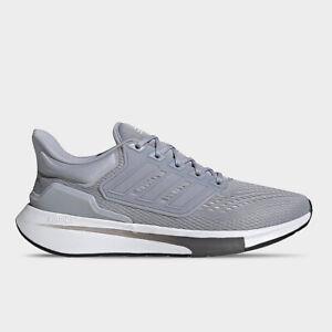 Adidas EQ21 Run Men's Athletic Sneaker Grey Trainer Running Shoe Gym Training