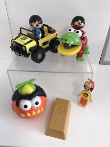 Ryans World Toys Vehicles Car   bundle and figures - Not Complete (A)